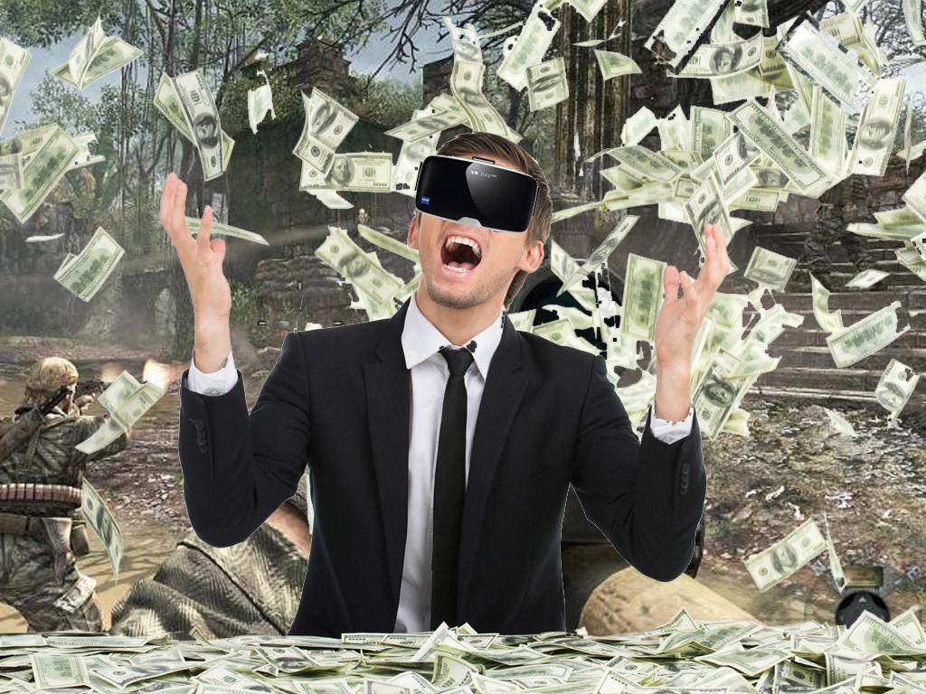 Money flowing