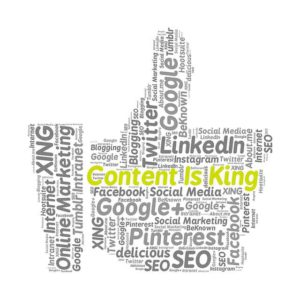 Content is king thumbs up