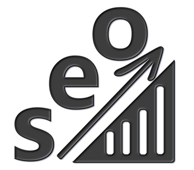 Seo chart going up
