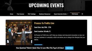 VEA events at virtual entrepreneur association - review