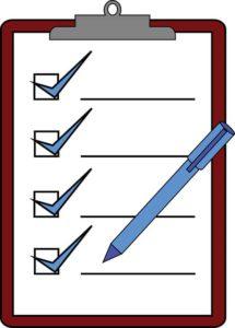 tick clipboard