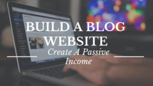 build a blog website