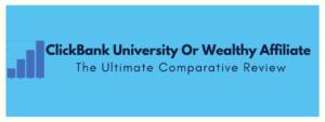 clickbank vs wealthy affiliate