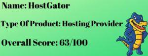 Wordpress hosting with hostgator review