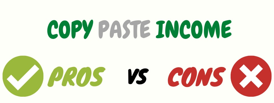 copy paste income review pros and cons