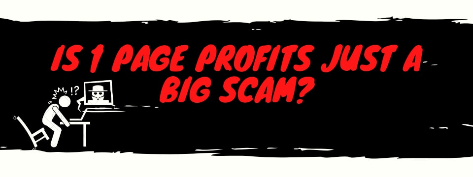 1 page profits review scam