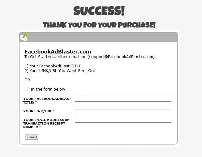 facebook ad blaster review inside