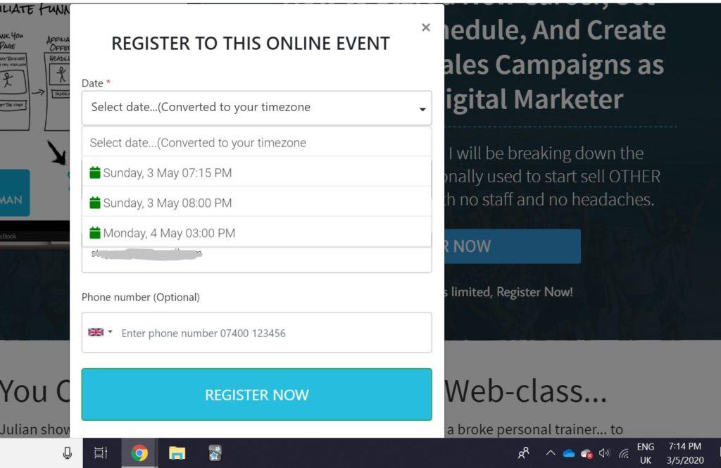 is affiliate institute a scam fake live webinar