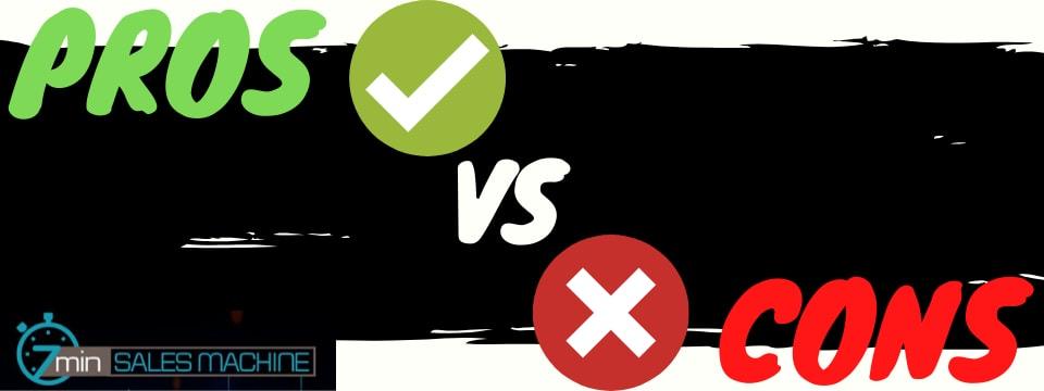 7 minute sales machine review pros vs cons