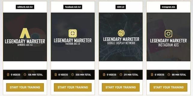whats inside legendary marketer traffic university