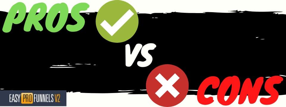 easy pro funnels v2 pros vs cons