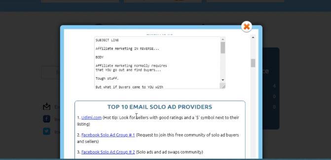 inside cb money vine review solo ad providers