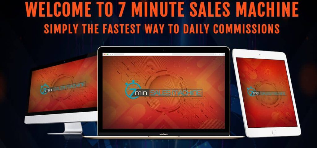 whats inside 7 minute sales machine