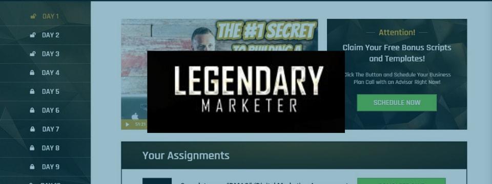 whats inside legendary marketer