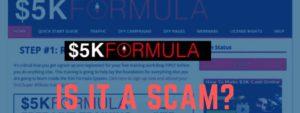 5k formula system review