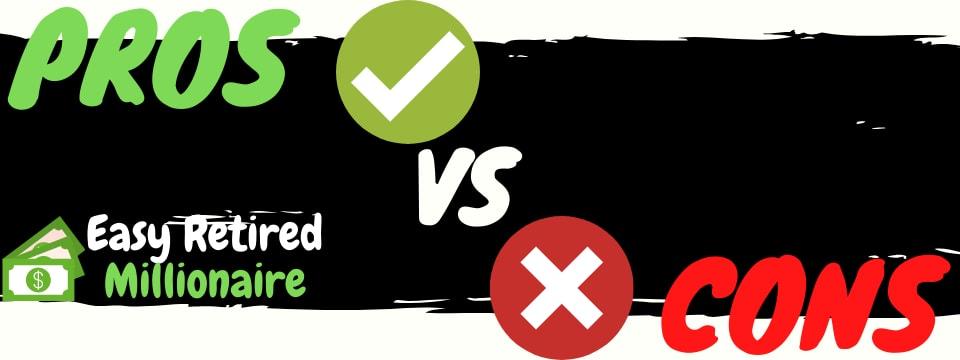 easy retired millionaire review pros vs cons