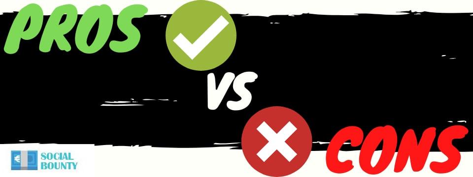 social bounty review pros vs cons