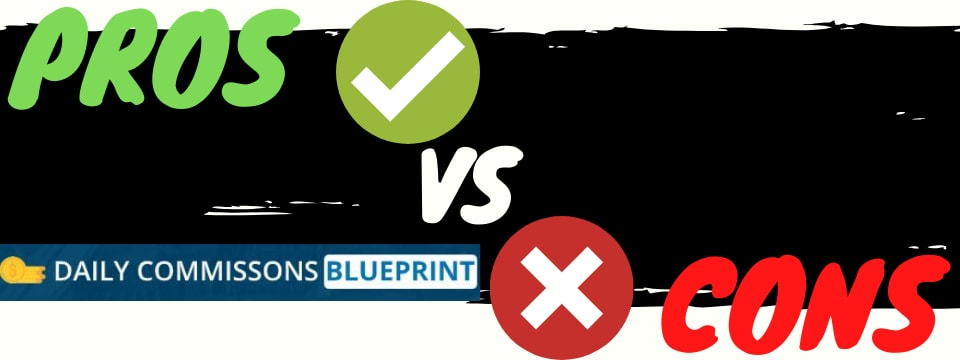 daily commissions blueprint review pros vs cons