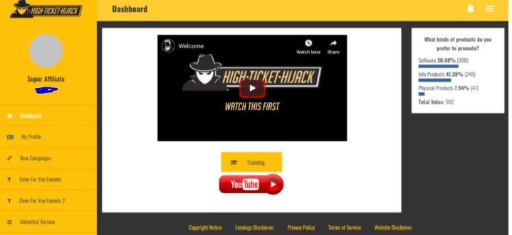 high ticket hijack review inside