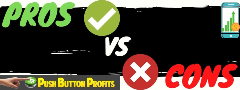 push button profits review pros vs cons