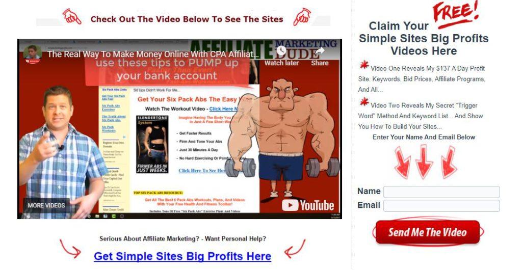 simple sites big profits review inside