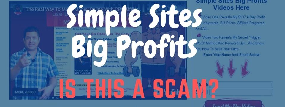 simple sites big profits review