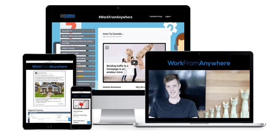 work from anywhere accelerator review inside