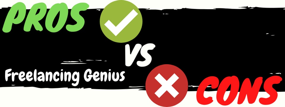 freelancing genius review pros vs cons