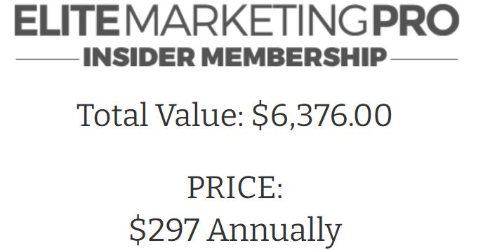 elite marketing pro insider membership fake value price