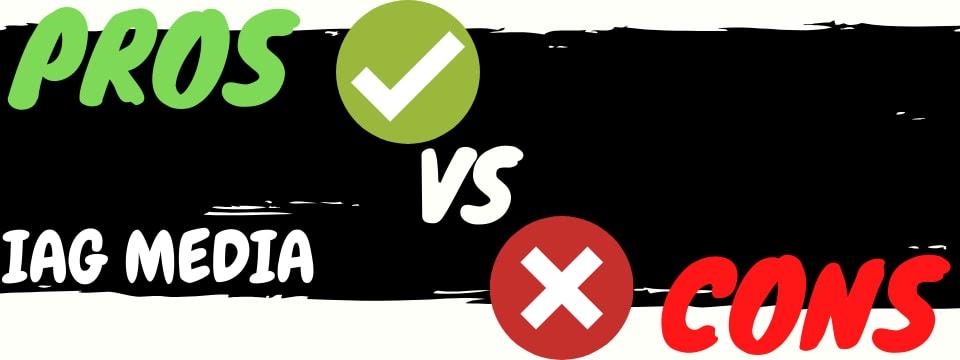 iag media six figure smma review pros vs cons
