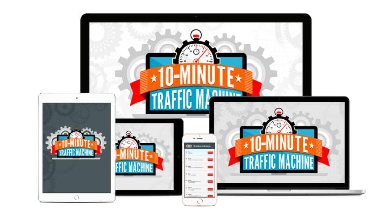ten minute traffic machine
