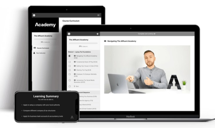 Affluent Academy review what is it