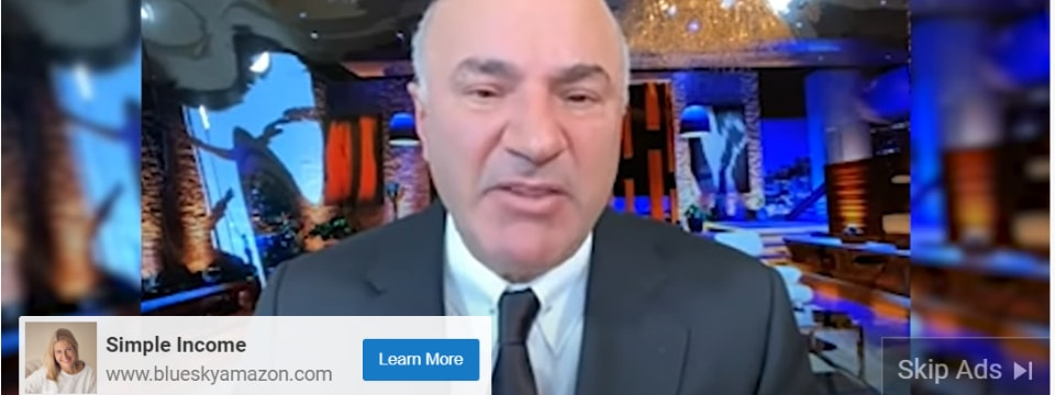 blue sky amazon review kevin oleary ad on Youtube