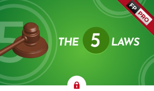four percent group review the five laws