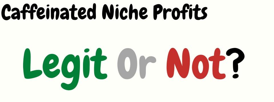 caffeinated niche profits legit or not