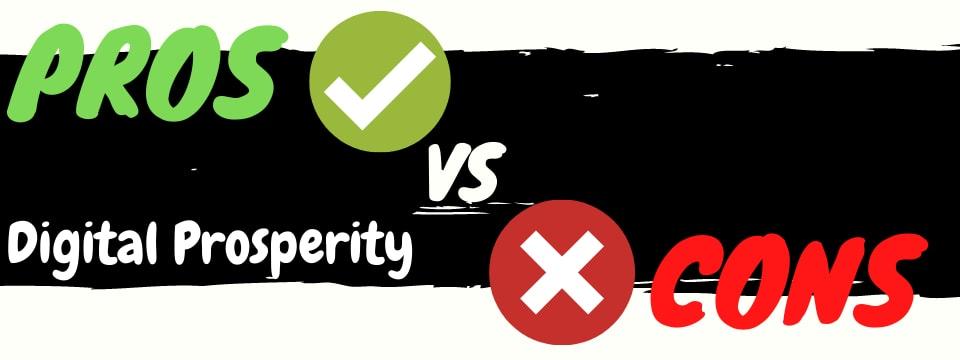 james francis digital prosperity review pros vs cons