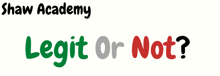 shaw academy digital marketing review legit or not