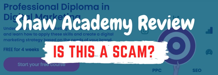 shaw academy digital marketing review