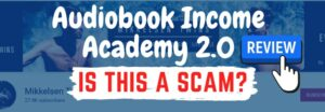 audiobook income academy review