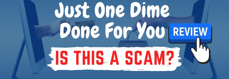 just one dime done for you review