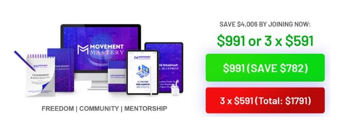 movement mastery 2.0 price