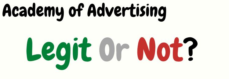 Jason Hornung Academy of Advertising legit or not