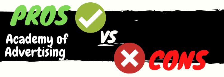 Jason Hornung Academy of Advertising pros vs cons