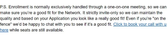Titan Network email from Dan Ashburn