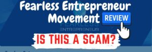 fearless entrepreneur movement