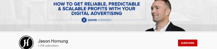 jason Hornung academy of advertising youtube channel