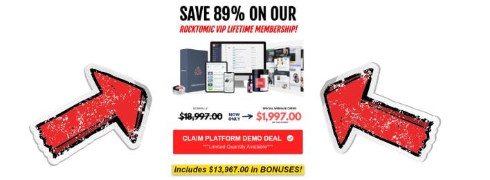 rocktomic review price vip lifetime membership