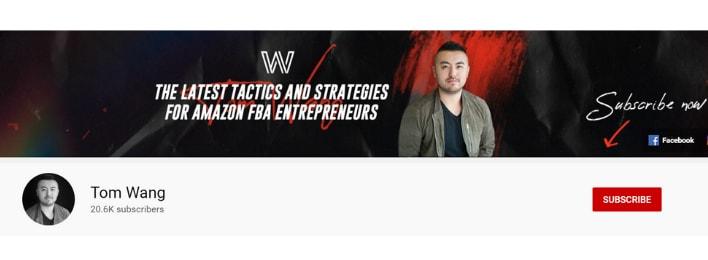 tom wang amazon fba masterclass youtube channel