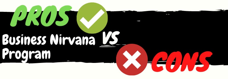 Business Nirvana Program review pros vs cons