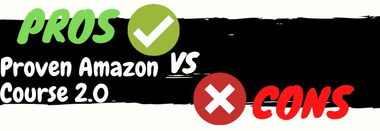 proven amazon course review pros vs cons